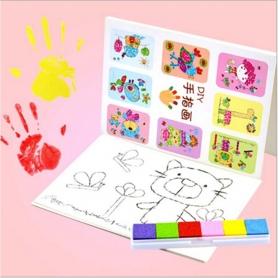 Kit complet peinture au doigt à l'eau