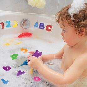 X36 Lettres et chiffres en mousse pour le bain