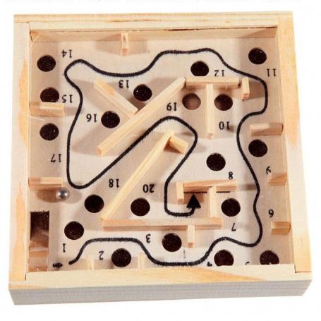 Labyrinthe bille en bois