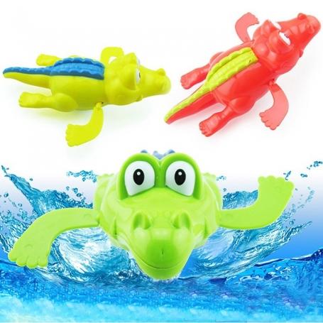 Crocodile jouet à remonter