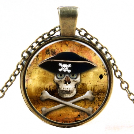 Médaillon de Pirate