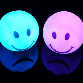 Veilleuse Smiley LED