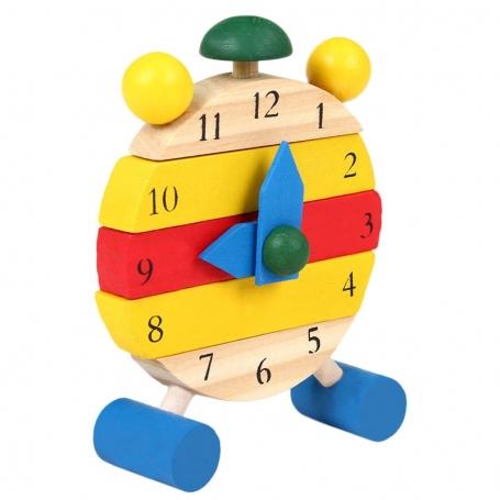 Horloge puzzle en Bois