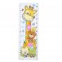 Stickers Toise Girafe pour enfant