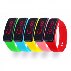 Montre Digitale LED pour enfant ajustable