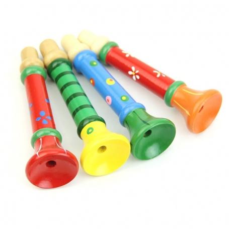 Trompette en bois