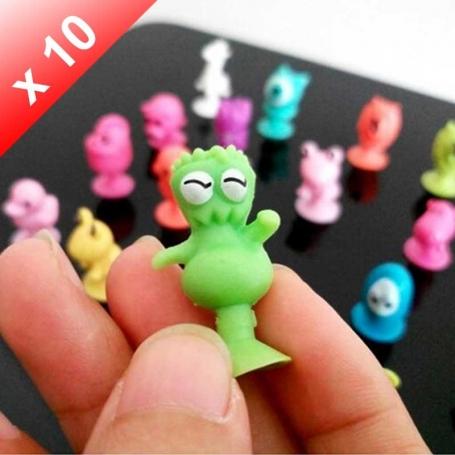 X10 Monstres Ventouses Stikeez