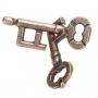 Puzzle casse-tête clès en métal
