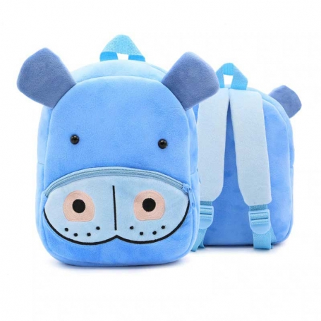 Sac à dos maternelle hippopotame
