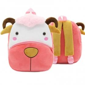 Sac à dos maternelle Mouton rose