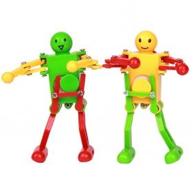 Robot jouet à remonter