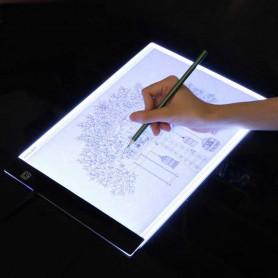 Tablette lumineuse A4 décalquer dessin