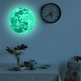 Lune phosphorescente fluorescente chambre