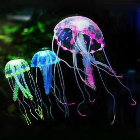 Méduse artificielle décoration aquarium