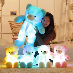 Ours en peluche lumineux