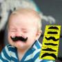 X12 Fausse moustache pour enfants