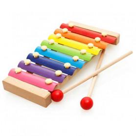 Xylophone arc-en-ciel pour enfant