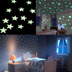 X50 Etoiles phosphorescente fluorescente Mur et plafond
