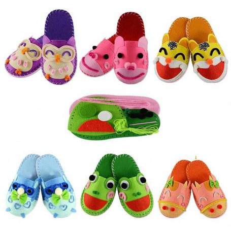 Kit chausson à coudre pour enfant