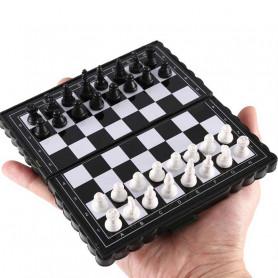 jeu d'échecs de voyage magnétique pliant