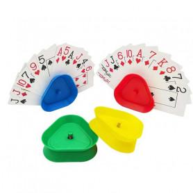 X4 Portes cartes à jouer