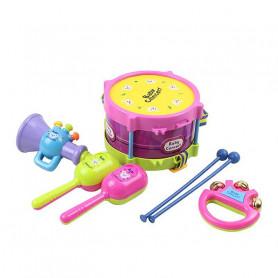 Kit de 5 instruments de musique bébé
