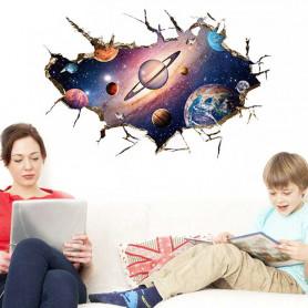 Stickers espace planètes