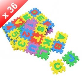 Puzzle lettre en mousse