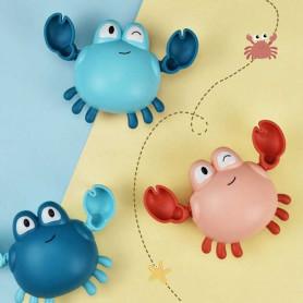 Crabe jouet à remonter pour le bain