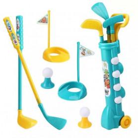 Kit golf pour enfant avec chariot