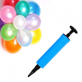 Pompe à ballon anniversaire