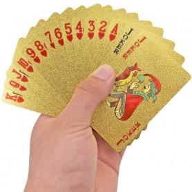 Carte à jouer doré Or