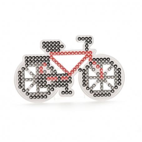 Plaque Vélo pour perles à repasser