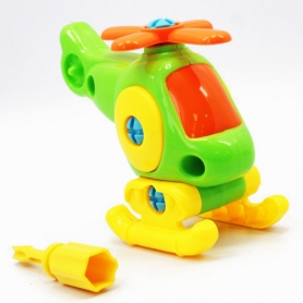 Hélicoptère à assembler pour enfant
