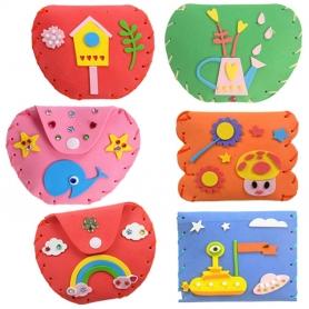 Kit couture porte-monnaie pour enfant
