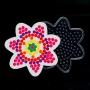 Plaque Fleur pour perles à repasser