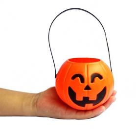 Panier Citrouille à bonbons halloween
